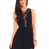Lace Lulu Dress - Black | GYPSY WARRIOR