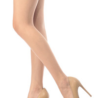 Camel Faux Leather Pointy Toe Classic Pumps