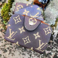 Louis Vuitton LV  New fashion monogram leather wallet purse card package