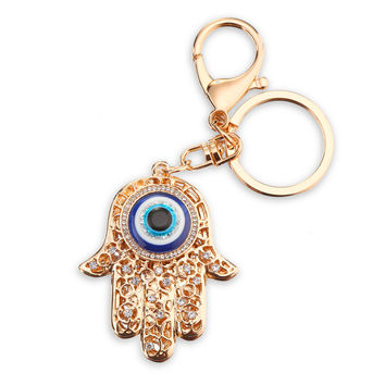 PRO ACME Zinc Alloy Crystal Palm Key Chain Customized Name Keychain Women Personalized Couple Key Ring Hand Stamp PWK0262