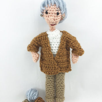Dorothy Golden Girl Amigurumi Crochet Doll