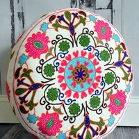 Yoga Meditation Bohemian Pouf Floor Pillow