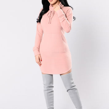Get Me Home Dress - Mauve