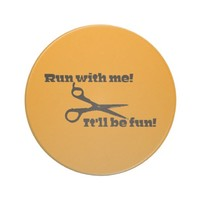 Scissors - Run With Me! It'll Be Fun! Coasters