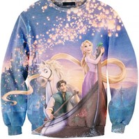 Cartoon Print Sweatshirt - OASAP.com