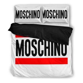 Moschino Inspired Duvet Bedding Set - 2 Colors Available