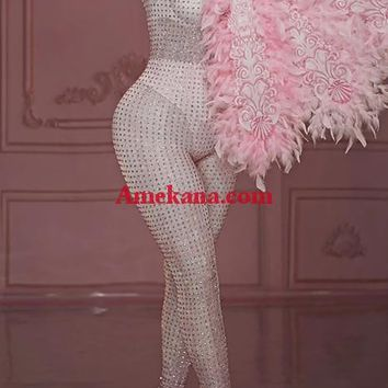 Sugar Mama Diamante Bodysuit