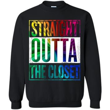 Straight Outta The Closet - Gay Pride LGBT T-Shirt