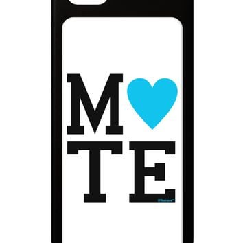 Matching Soulmate Design - Mate - Blue iPhone 5 / 5S Grip Case  by TooLoud