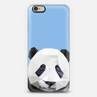 panda iPhone 6 case by Sophie Rousseau | Casetify