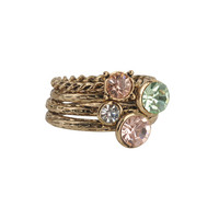 Textured Stack Rings | FOREVER21 - 1000034893