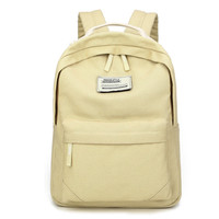 Back To School On Sale Casual Stylish College Hot Deal Comfort Korean Soft Canvas Backpack [6542345923]