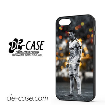Christiano Ronaldo Real Madrid FC DEAL-2584 Apple Phonecase Cover For Iphone 5 / Iphone 5S