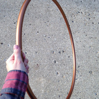 Metallic Copper 3/4inch Polypro Hula Hoops