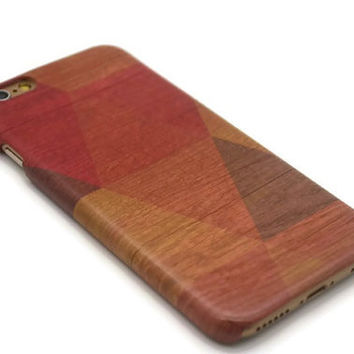Geometric wood iphone 6 case / / iphone 6 plus case / / Samsung galaxy S6 case / / galaxy S5 case / / triangle iphone 4 5S S4 note 3 note 4