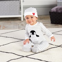 Penguin PJs - Two-Piece Layette Gift Set