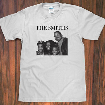 THE SMITHS T-Shirt - Will Smith , Morrisey, Family funny tee hipster S M L XL 2X new