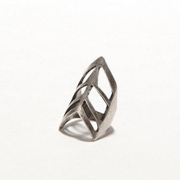 With Love From CA Cutout Chevron Ring at PacSun.com