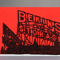Bekins Storage Neon Sign Greeting Card, LIMITED NEON EDITION