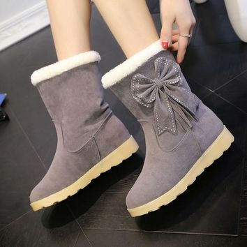 Hot Deal On Sale Thicken Boots [79792013337]