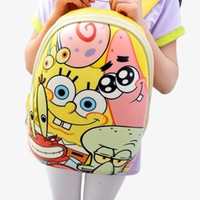 Sponge Bob Yellow Backpack