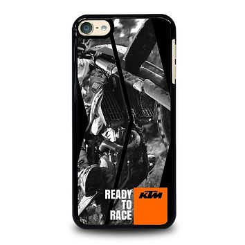 KTM MOTORCYCLE READY TO RACE iPod Case