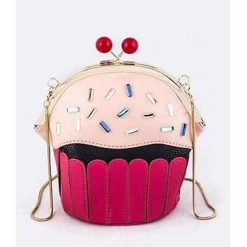 Sweets for the Sweets Cupcake Purse