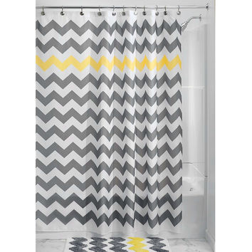 Curtains Ideas chevron stripe shower curtain : Best Grey Chevron Curtains Products on Wanelo
