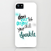Unique Sparkle iPhone & iPod Case by jlbrady213 & KBY
