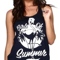 Women's Girls Of Summer Tank : Rave Camis and Tank Tops From Into the AM Clothing