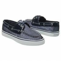 Women's Sperry Top-Sider Biscayne Navy Sparkle FamousFootwear.com