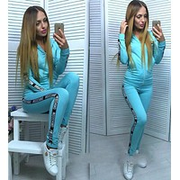 Moschino Top Sweater Hoodie Pants Trousers Set Two-Piece Sportswear