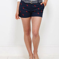 Shop Shorts for Women: Lobster Dayboat Shorts for Women - Vineyard Vines