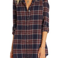 Billabong | Winter's Tale Plaid Shirtdress | Nordstrom Rack