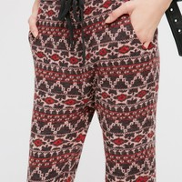 Free People Mix It Up Sweater Jogger