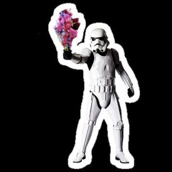 Flowertrooper Stickers by RagingCuppCakes | RedBubble