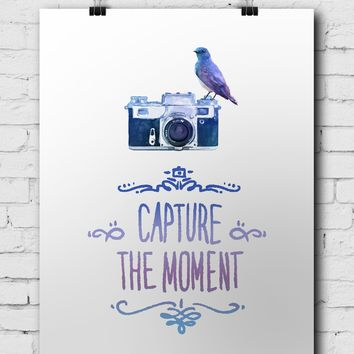 Photographer Poster Capture The Moment - POSTER039