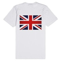 I Like My Men Hot And British-Unisex White T-Shirt