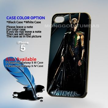 Thor Loki Avengers I Am Loki, Photo Hard Plastic iPhone 5 Case Cover