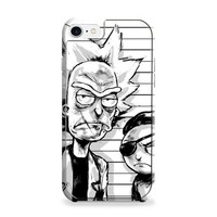 RICK AND MORTY PRINTS iPhone 7 | iPhone 7 Plus Case