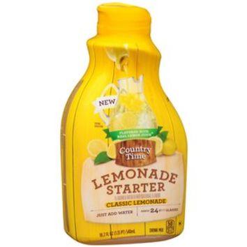 Walmart: Country Time Lemonade Starter Classic Lemonade Liquid Drink Mix, 18.2 fl oz