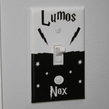 Harry Potter Light Switch Decal Sticker / Harry Potter Decal Sticker/ Light Switch Decal Sticker