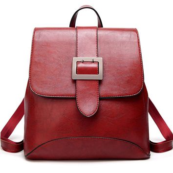 Womens Fashion Backpacks Purse PU Leather Shoulder Bags Ladies Casual Rucksack School Bags