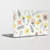 lovely day Laptop & iPad Skin by Pink Berry Patterns