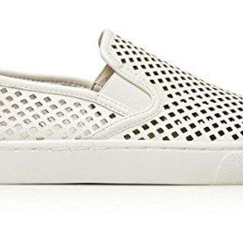 Tory Burch Jesse Perferated Sneaker, Ivory, 10.5