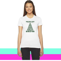 Marching Band Volume_ women T-shirt
