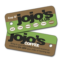 Custom Plastic Key Tag -2.75x1.125 Extra-Thick UV-Coated (1S)