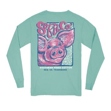 YOUTH Curly Sue Long Sleeve Tee by Southern Fried Cotton