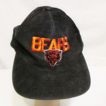 NEW ERA Vintage NFL Chicago Bears Corduroy Hat/Cap Pro Model One Size Football