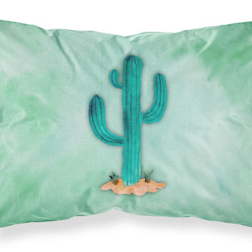 Western Cactus Watercolor Fabric Standard Pillowcase BB7369PILLOWCASE